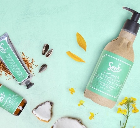 sunflower facial products