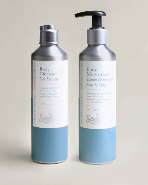 Body Cleanser & Moisturizer Set